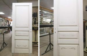 Изготовили индивидуальный проект межкомнатных дверей под заказ