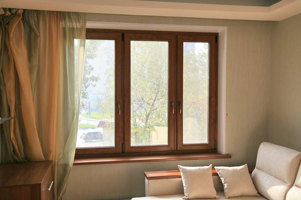 Цветные окна при помощи ламинации или окрашивания