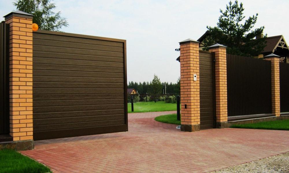 Ручное и автоматическое открывание ворот