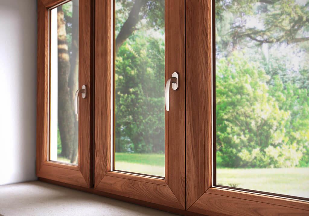 Красивые и экологичные деревянные окна от завода Белоруссии.