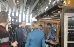 Приняли участие в выставке производителей дверей в Республике Беларусь