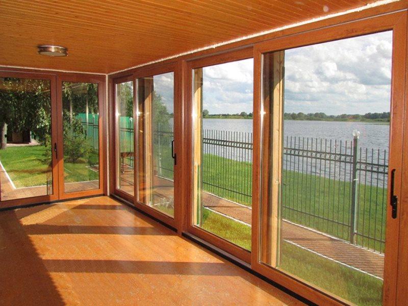 деревянные окна акция цена