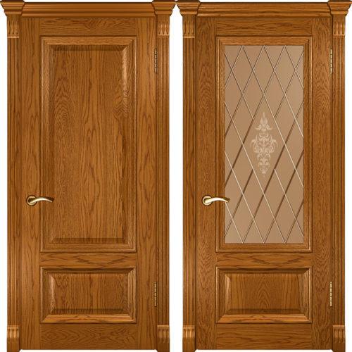 Двери золотой дуб