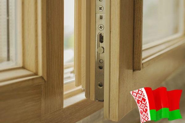деревянные окна с и-стеклом